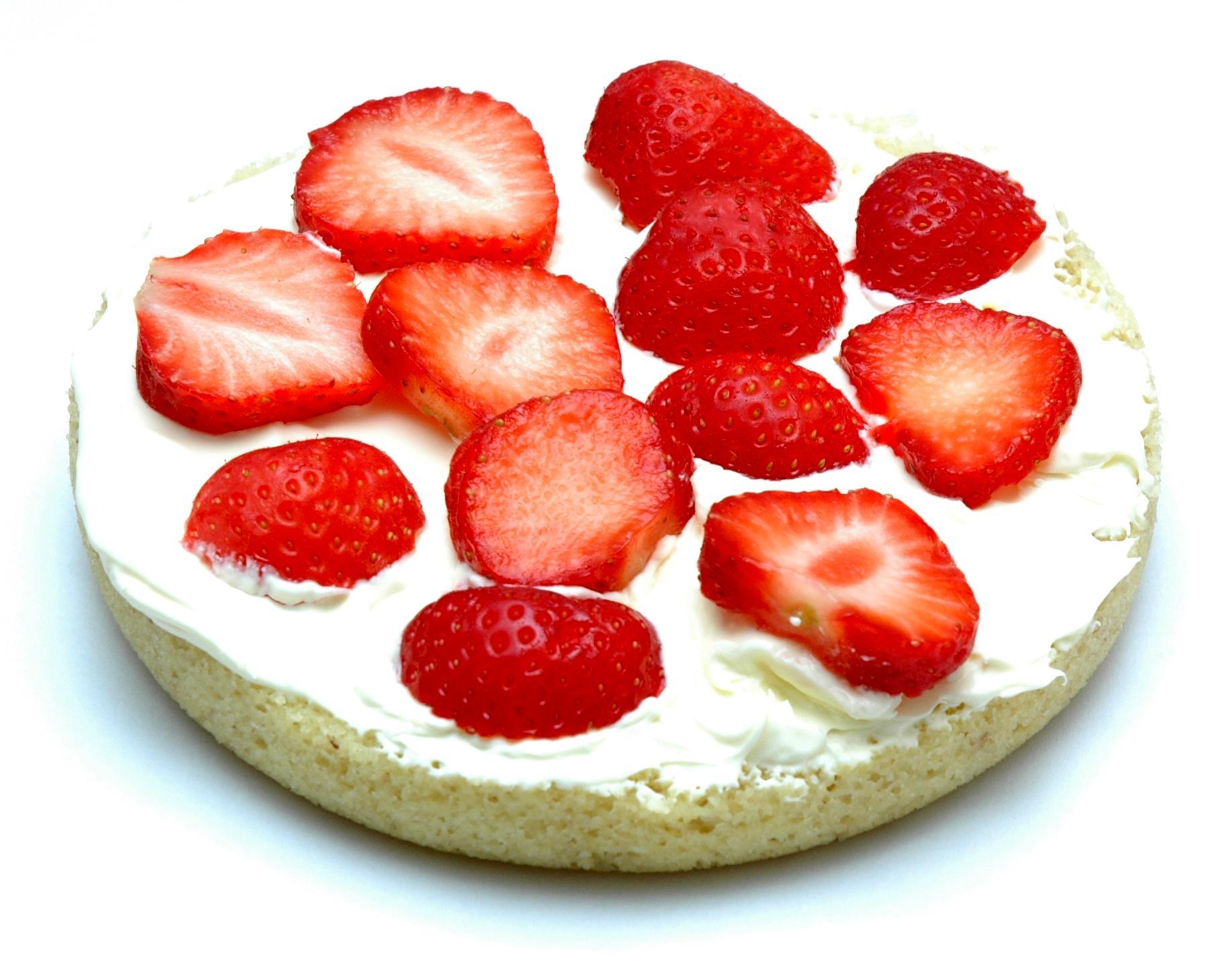 Healthy sponge cake recipe uk
